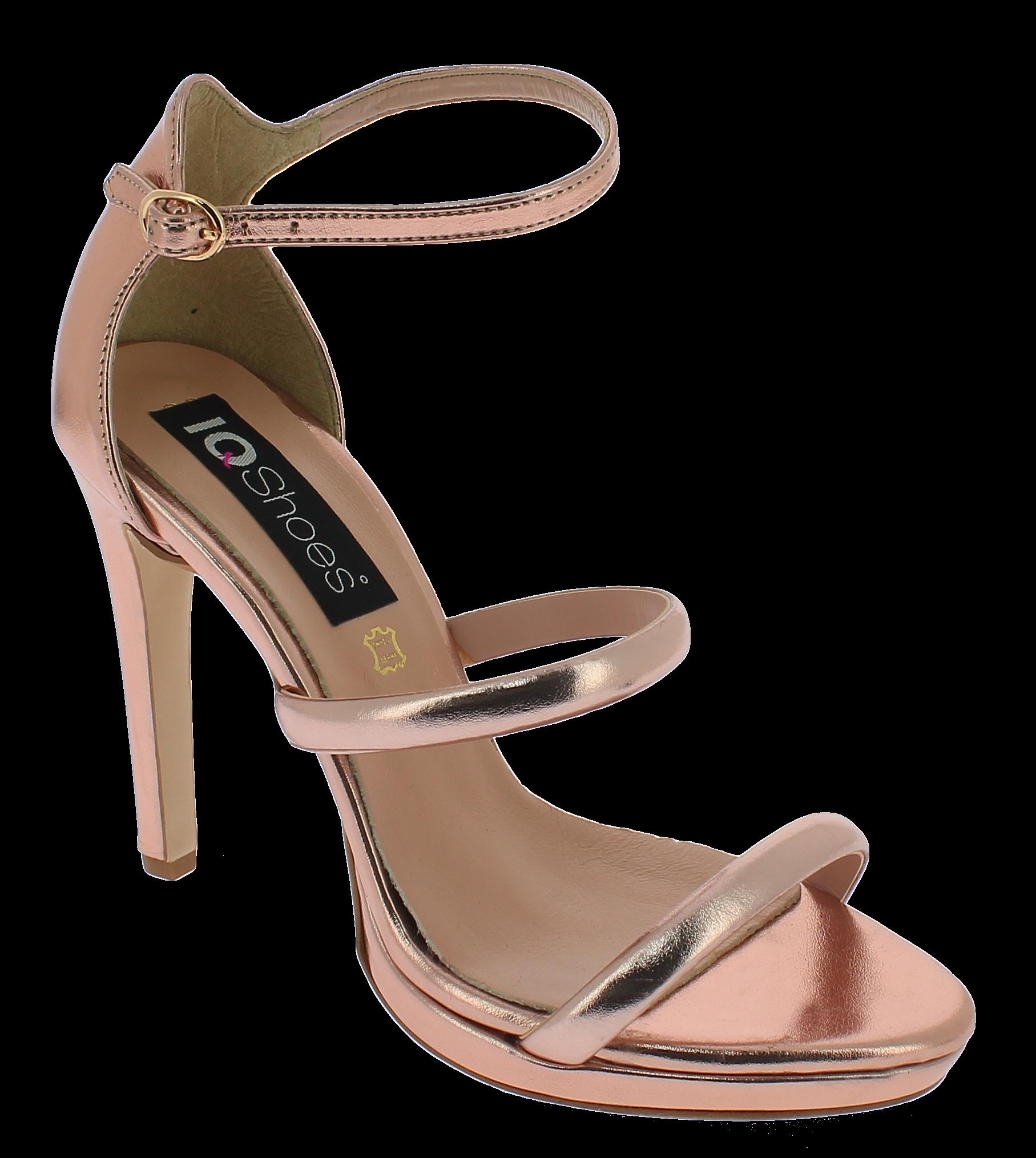 IQSHOES Γυναικείο Πέδιλο 1500 Μπρονζέ - IqShoes - 41.1500 BRONZE-IQSHOES-bronze- παπούτσια  γυναικεία σανδάλια   πέδιλα