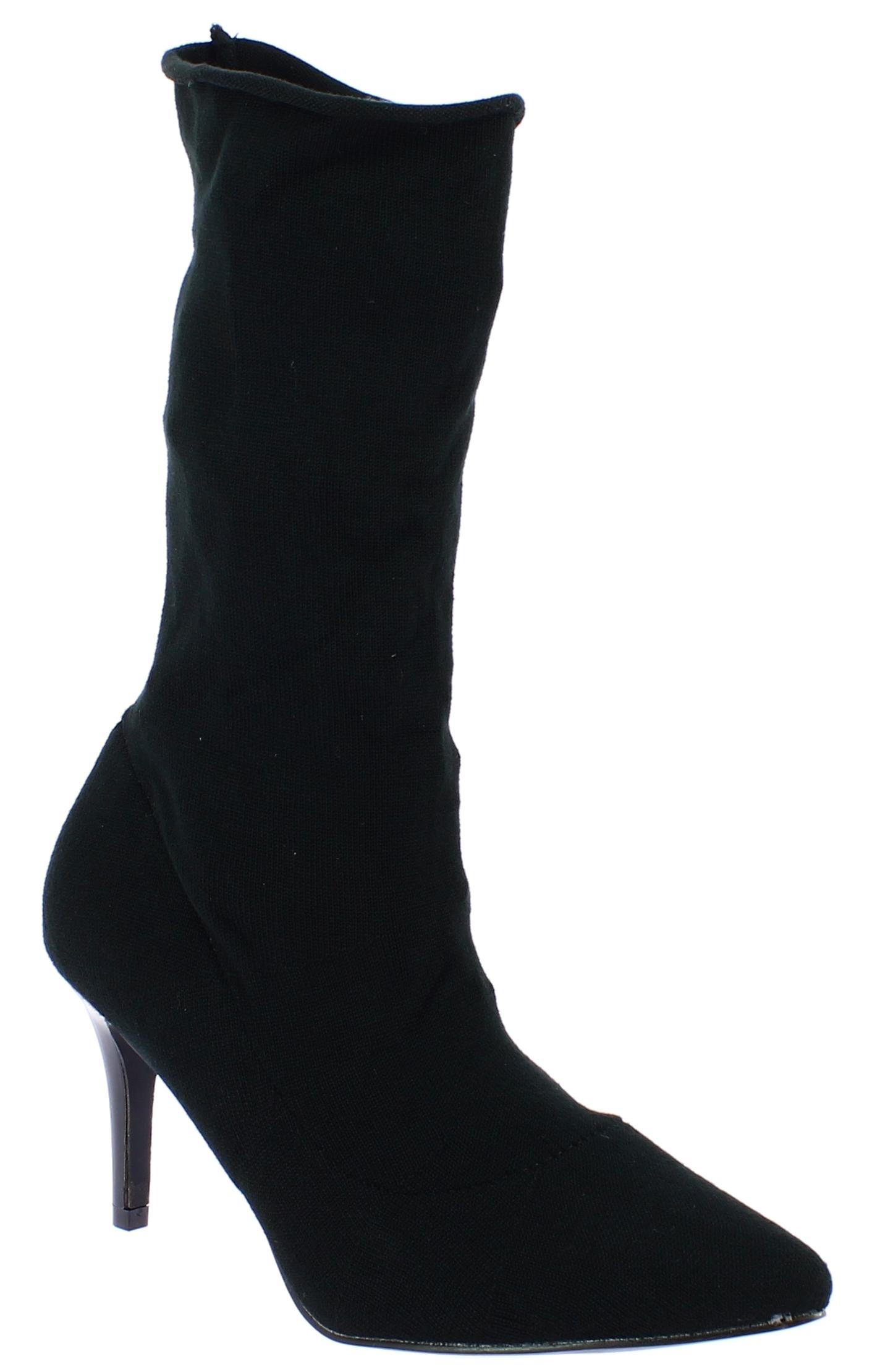 IQSHOES Γυναικεία Μποτάκι HD37 Μαύρο - IqShoes - HD37 BLACK-IQSHOES-black-39/1/1 παπούτσια  new in