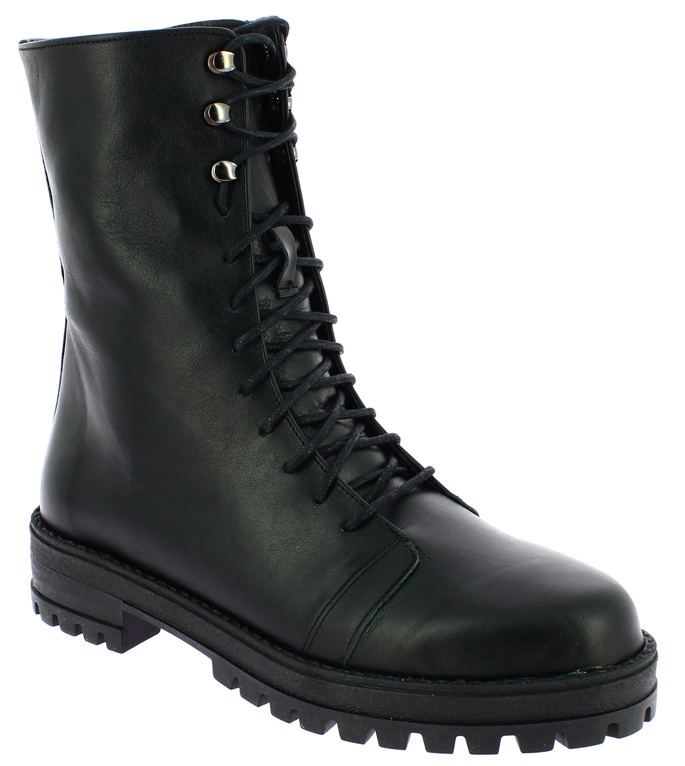IQSHOES Γυναικείο Μποτάκι 4254 Μαύρο - IqShoes - 20.4254 BLACK -IQSHOES-black-39 παπούτσια  new in