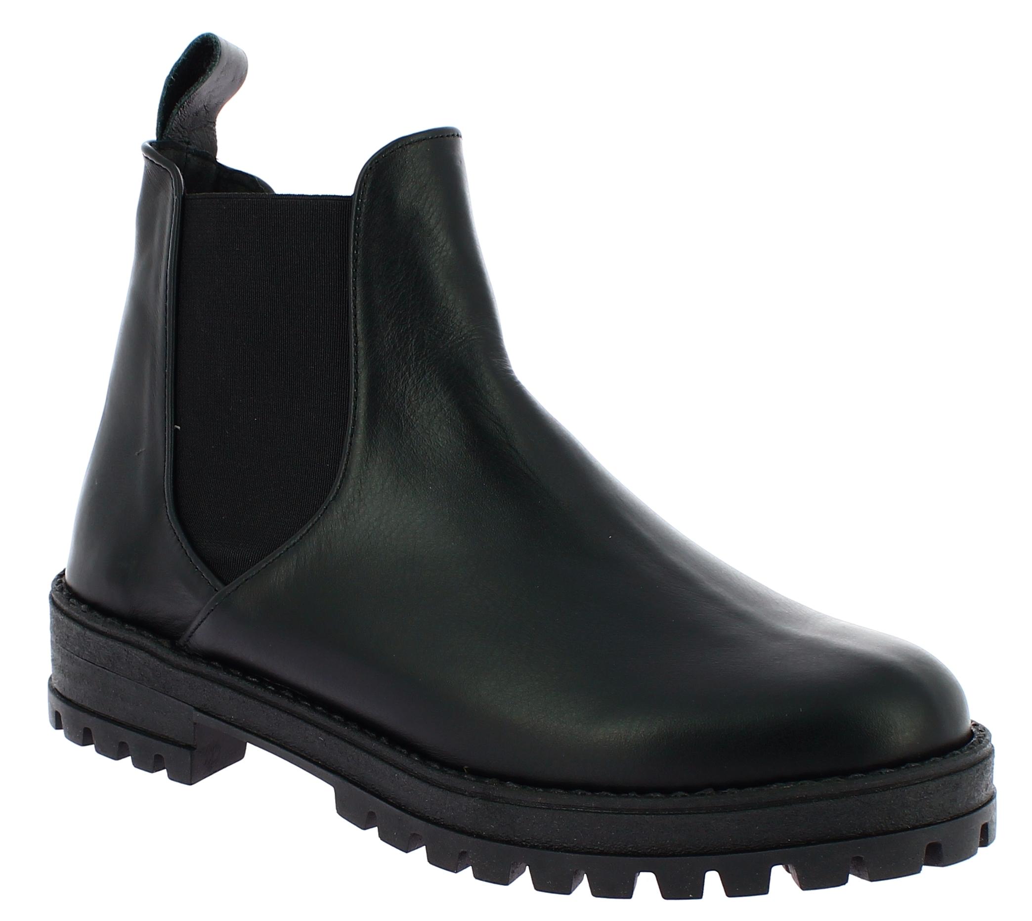 IQSHOES Γυναικείο Μποτάκι 4250 Μαύρο - IqShoes - 20.4250 BLACK -IQSHOES-black-39 παπούτσια  new in