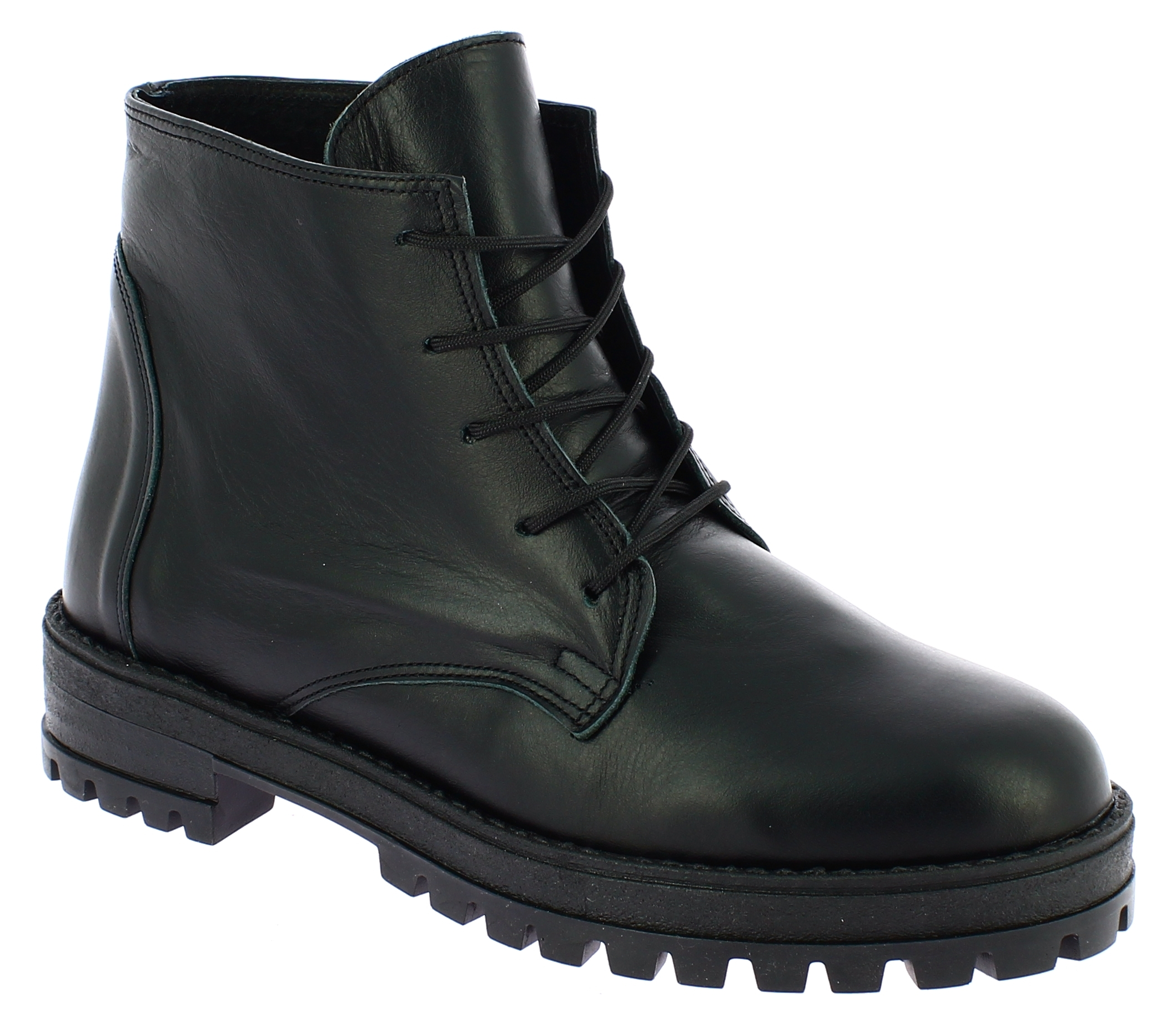 IQSHOES Γυναικείο Μποτάκι 2021 Μαύρο - IqShoes - 20.2021 BLACK-IQSHOES-black-36/ παπούτσια  new in