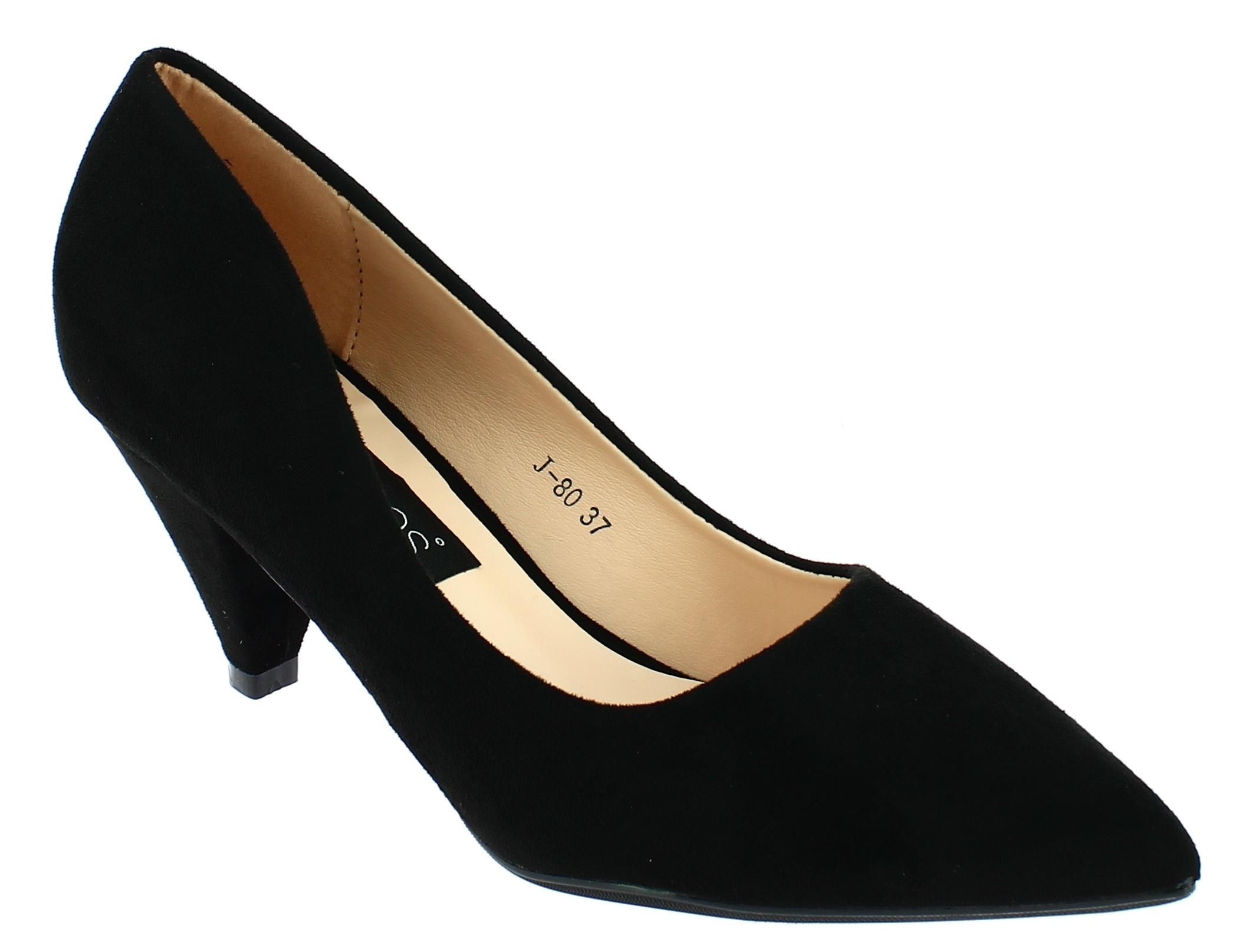 ae32e659dcc Missreina IQSHOES Γυναικεία Γόβα J80 Μαύρο - IqShoes - J80 BLACK-IQSHOES- black-40