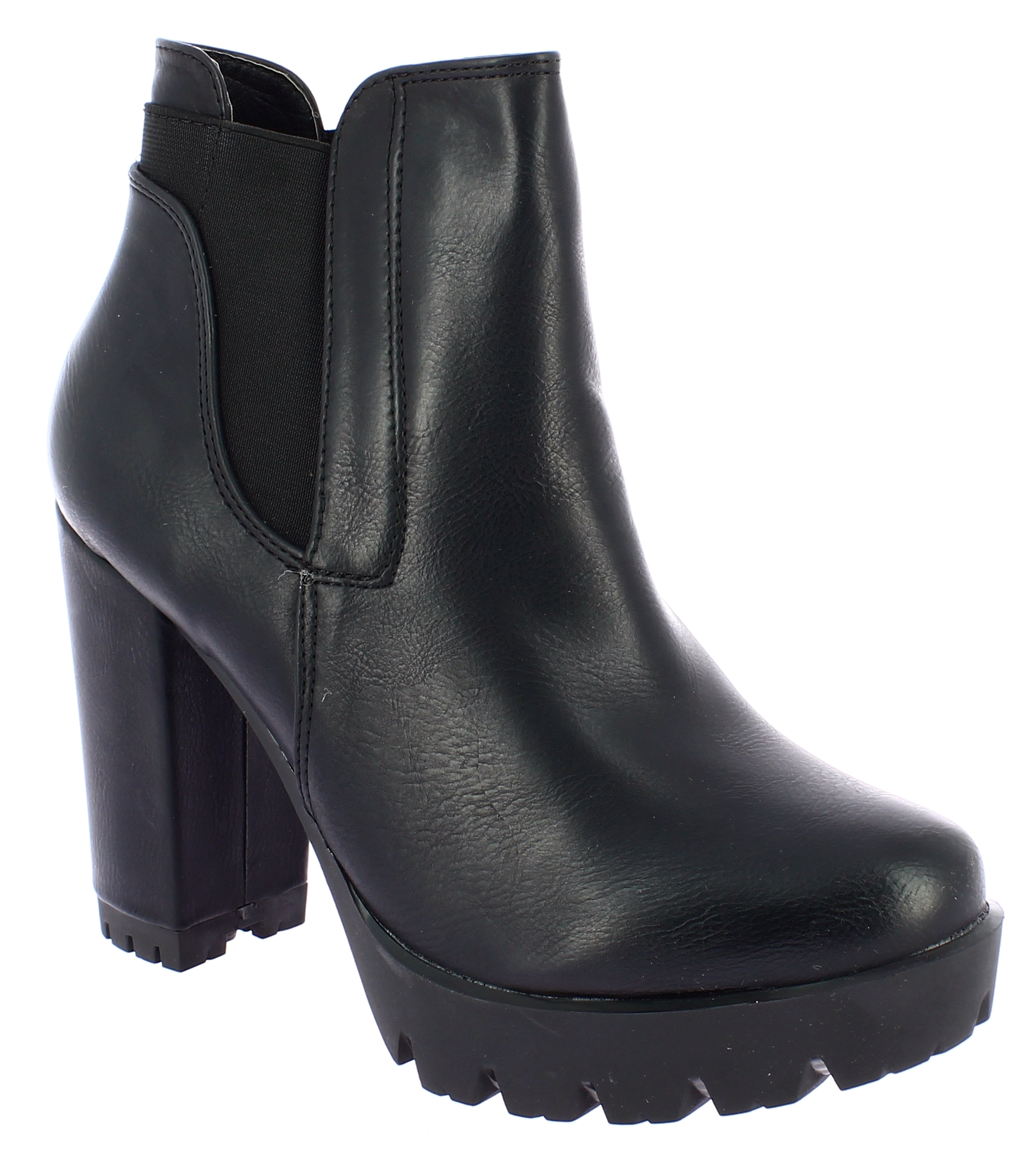IQSHOES Γυναικείο Μποτάκι YBS-22-BYH-70 Μαύρο - IqShoes - YBS-22-BYH-70 BLACK-IQ παπούτσια  προσφορεσ