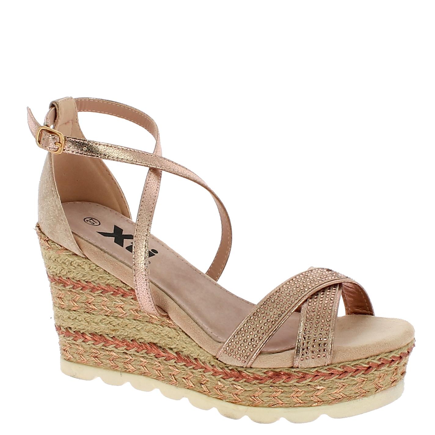 XTI Γυναικεία Πλατφόρμα 49001 Μπρονζέ - XTI - 49001 NUDE-XTI-bronze-40/1/34/8 παπούτσια  new in