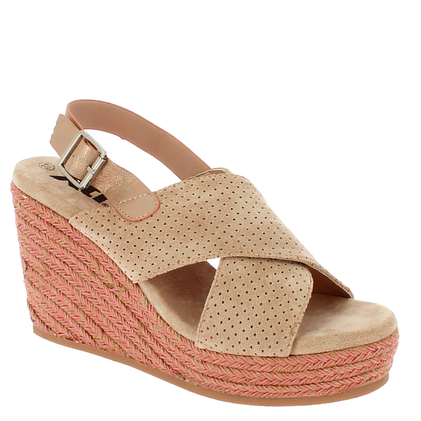 XTI Γυναικεία Πλατφόρμα 49088 Μπεζ - XTI - 49088 NUDE-XTI-beige-36/1/7/7 παπούτσια  new in