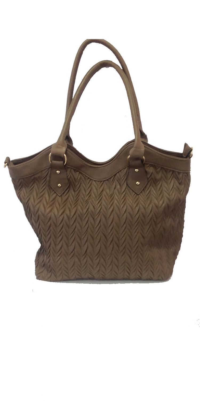 Τσάντα χειρός Leather Like - OEM - B-6003 αξεσουάρ τσάντες