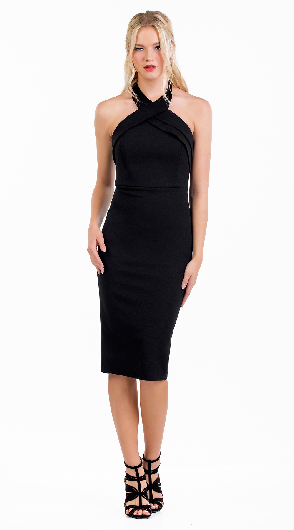 Μίντι bodycon εξώπλατο φόρεμα infinity Online - OEM - F17ON-5824030 2a016ca9fab