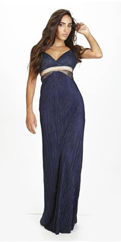 Βραδυνό Μάξι Φόρεμα Πλισέ - OEM - FA17LV-531406 φορέματα party φορέματα