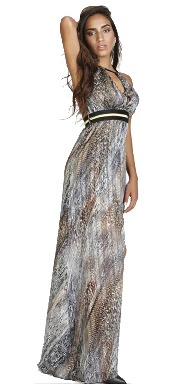 Βραδυνό Μάξι Φόρεμα με Prints - OEM - FA17LV-531411 φορέματα μάξι φορέματα