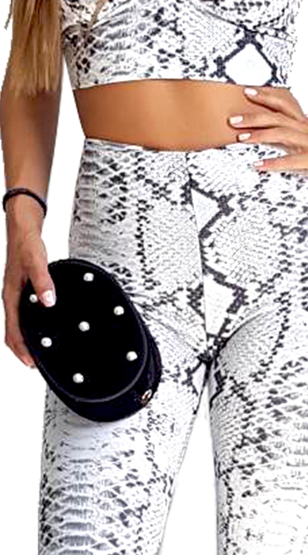 Βελουτέ Belt Bag με Πέρλες - MissReina - FA18AC-62364 αξεσουάρ τσάντες