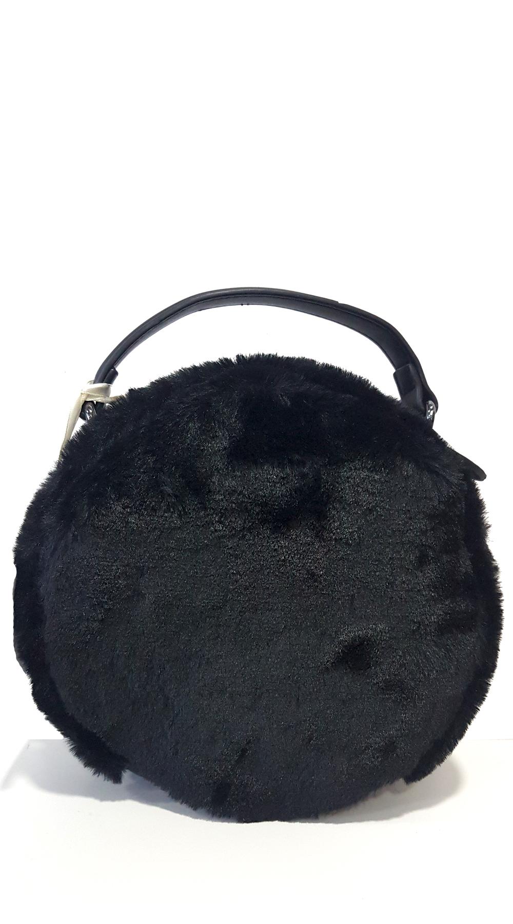 7d5c62624f Round Furry Bag