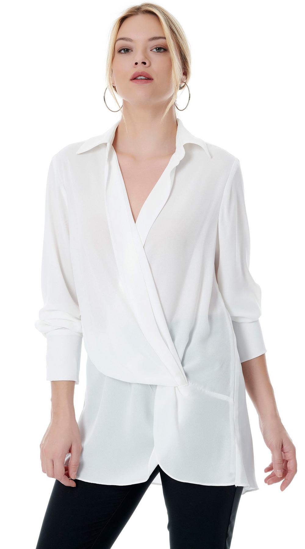 Κρουαζέ Πουκαμίσα-Μπλούζα ONLINE - ONLINE - FA18ON-16100 ενδύματα μπλούζες   t shirts