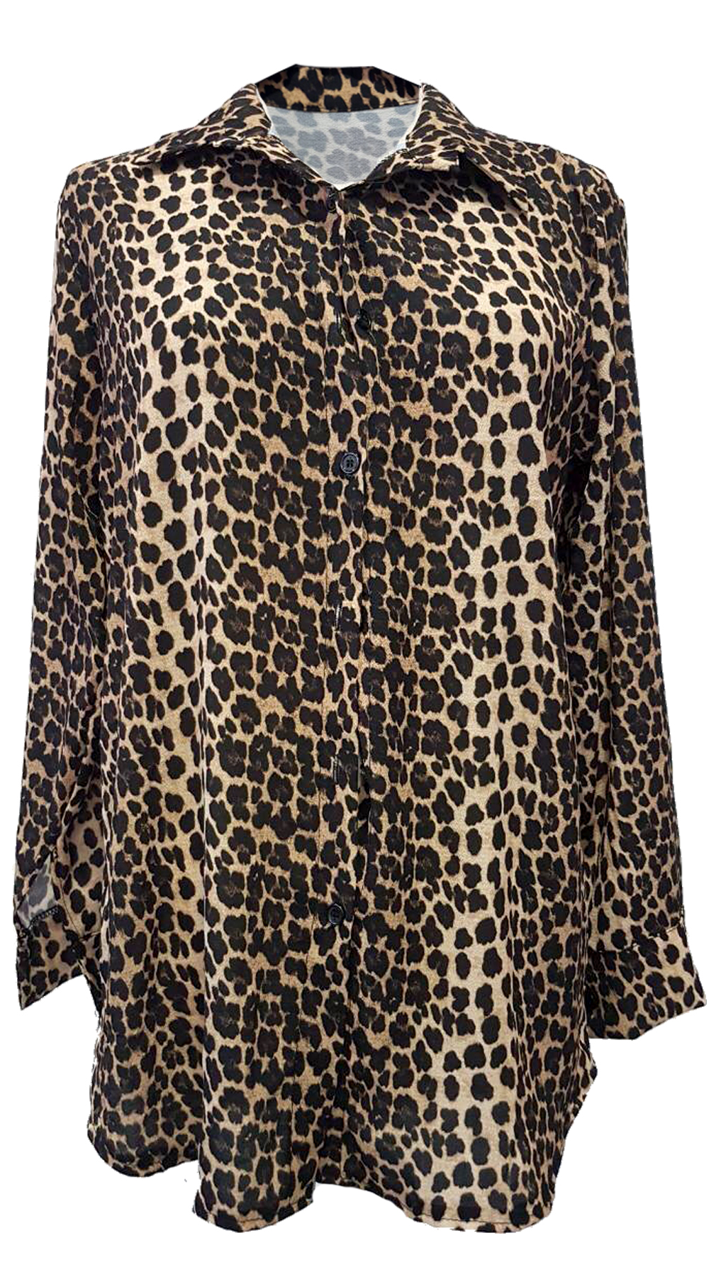 Λεοπάρ Πουκάμισο - MissReina - FW18SOF-18880 top trends animal prints