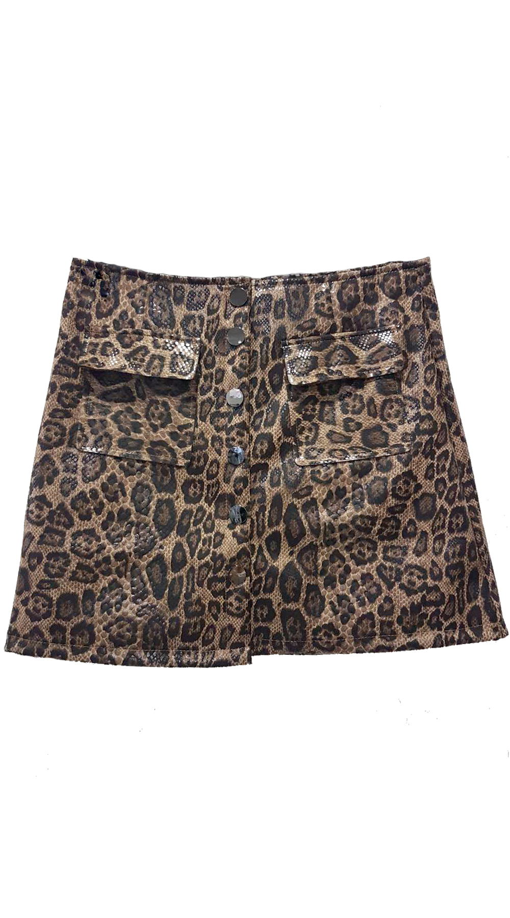 Mini Λεοπάρ Φούστα - MissReina - FW18SOF-71991 animal prints animal prints