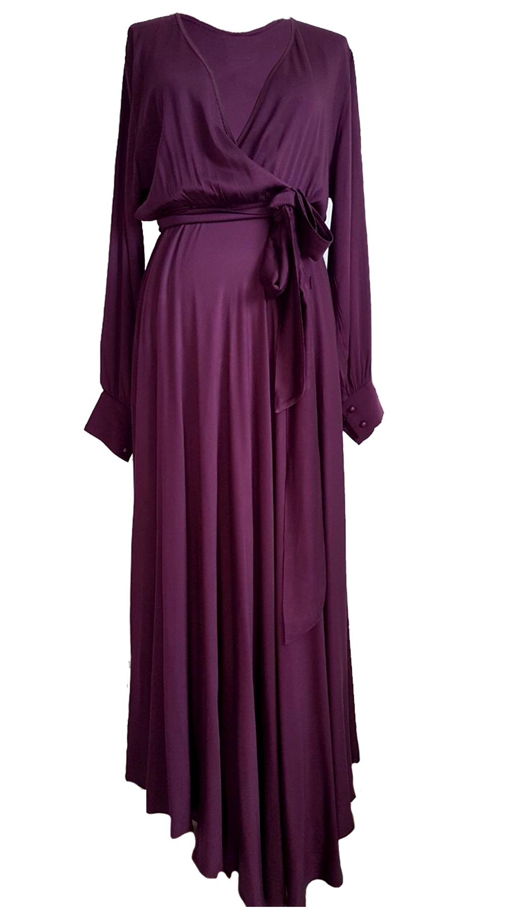 Μάξι φόρεμα με ζώνη Victoire - Greek Brands - FW19L3-52451