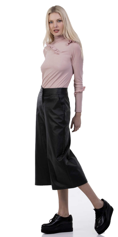 Γυναικεία ζιπ κιλότ Online - ONLINE - SP17SOF-389273 top trends monochrome