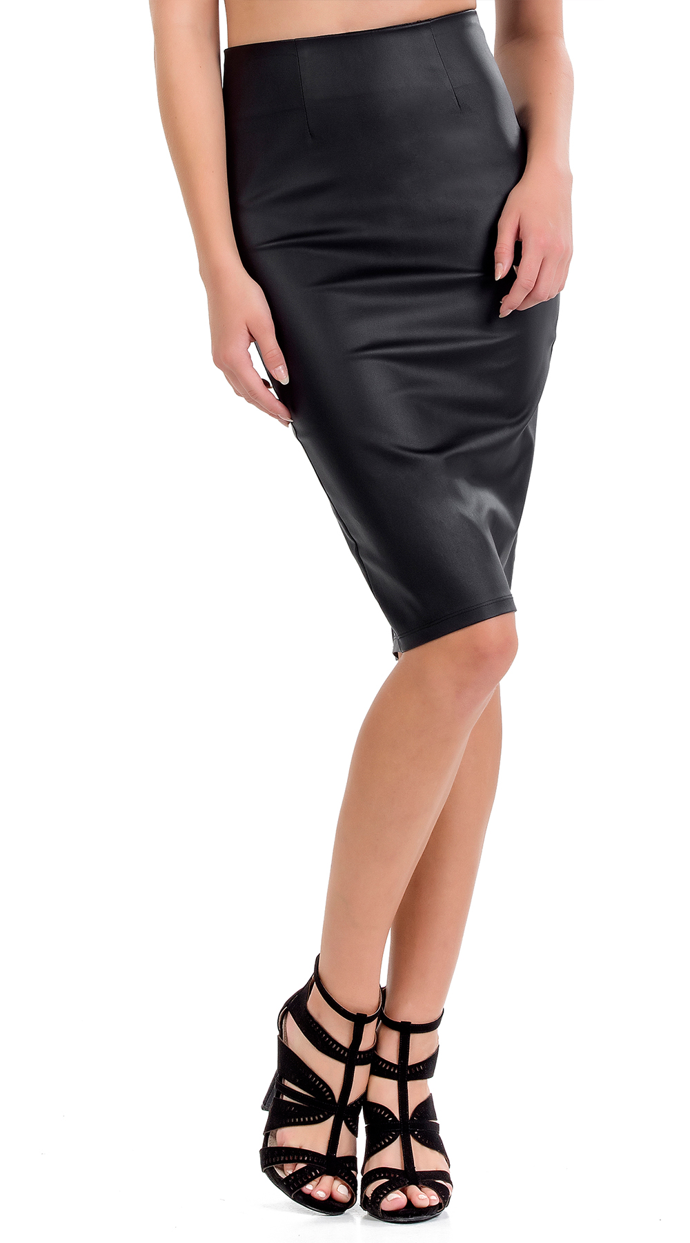 Μίντι leatherlook φούστα Online - ONLINE - FA17ON-79511 top trends office look