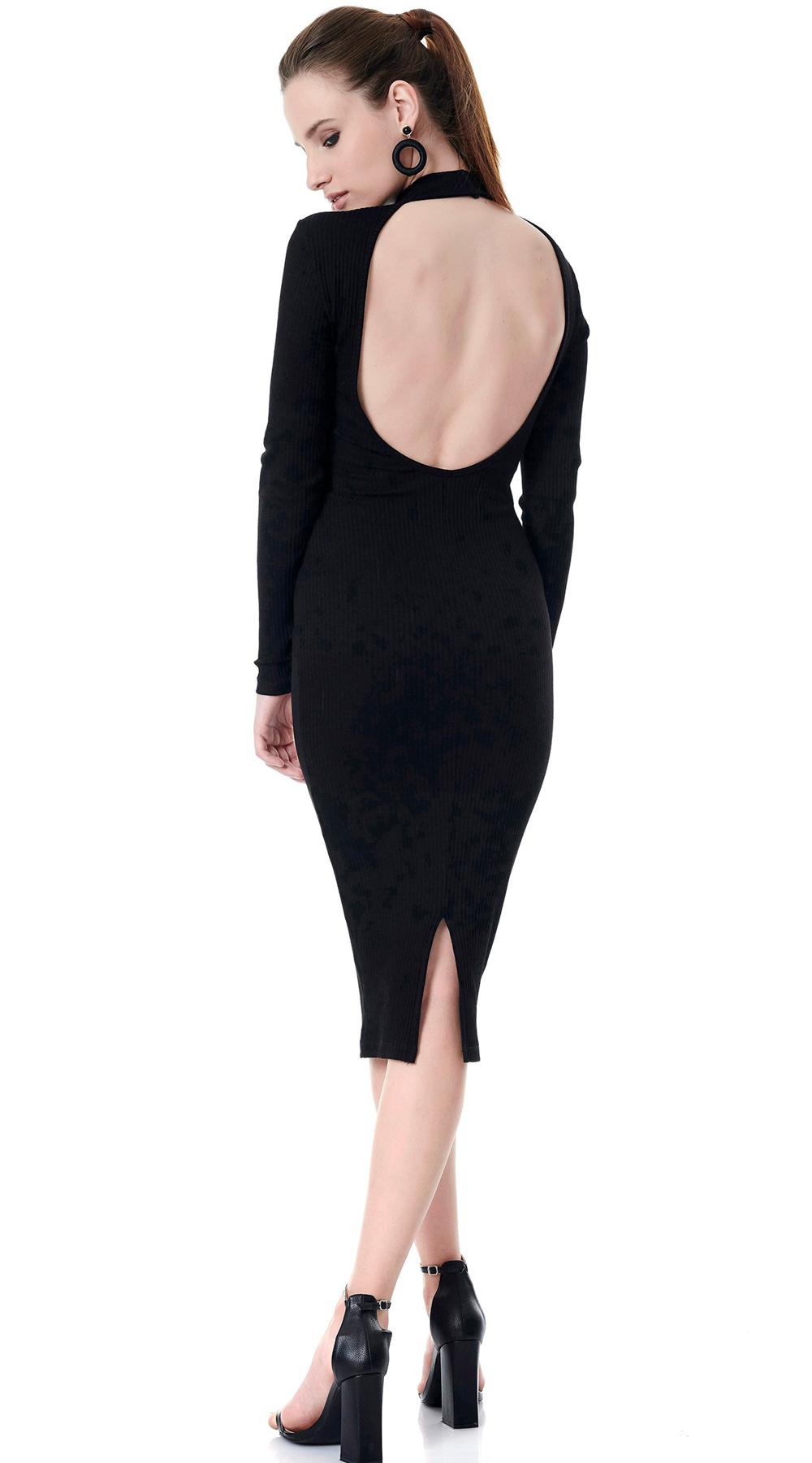 93f8c2316686 Midi Εξώπλατο Ζιβάγκο Φόρεμα ONLINE