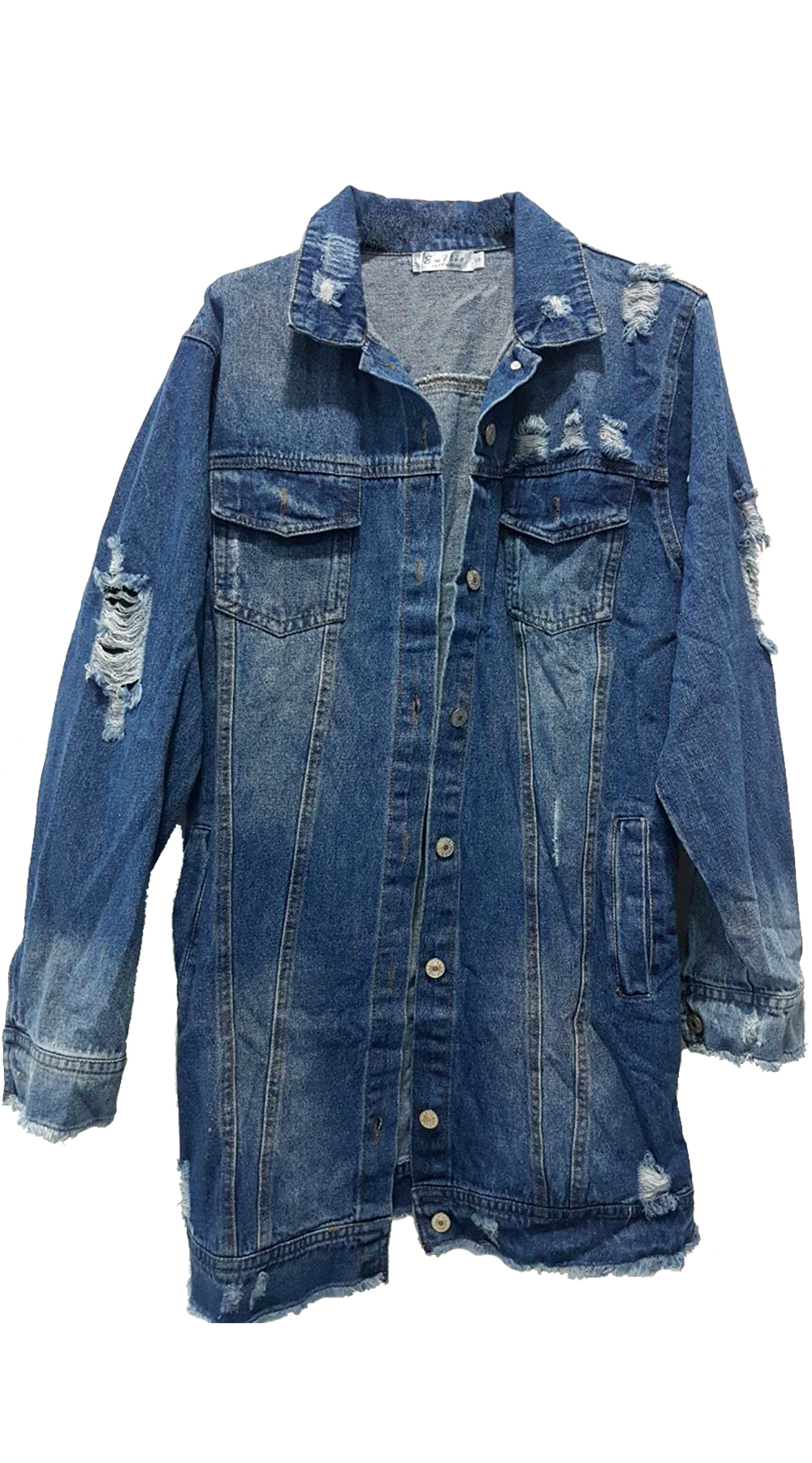 8b208ac8507 Denim Jacket Kate | Βρες μεγάλη ποικιλία σε γυναικεία μπουφάν! |  missreina.com