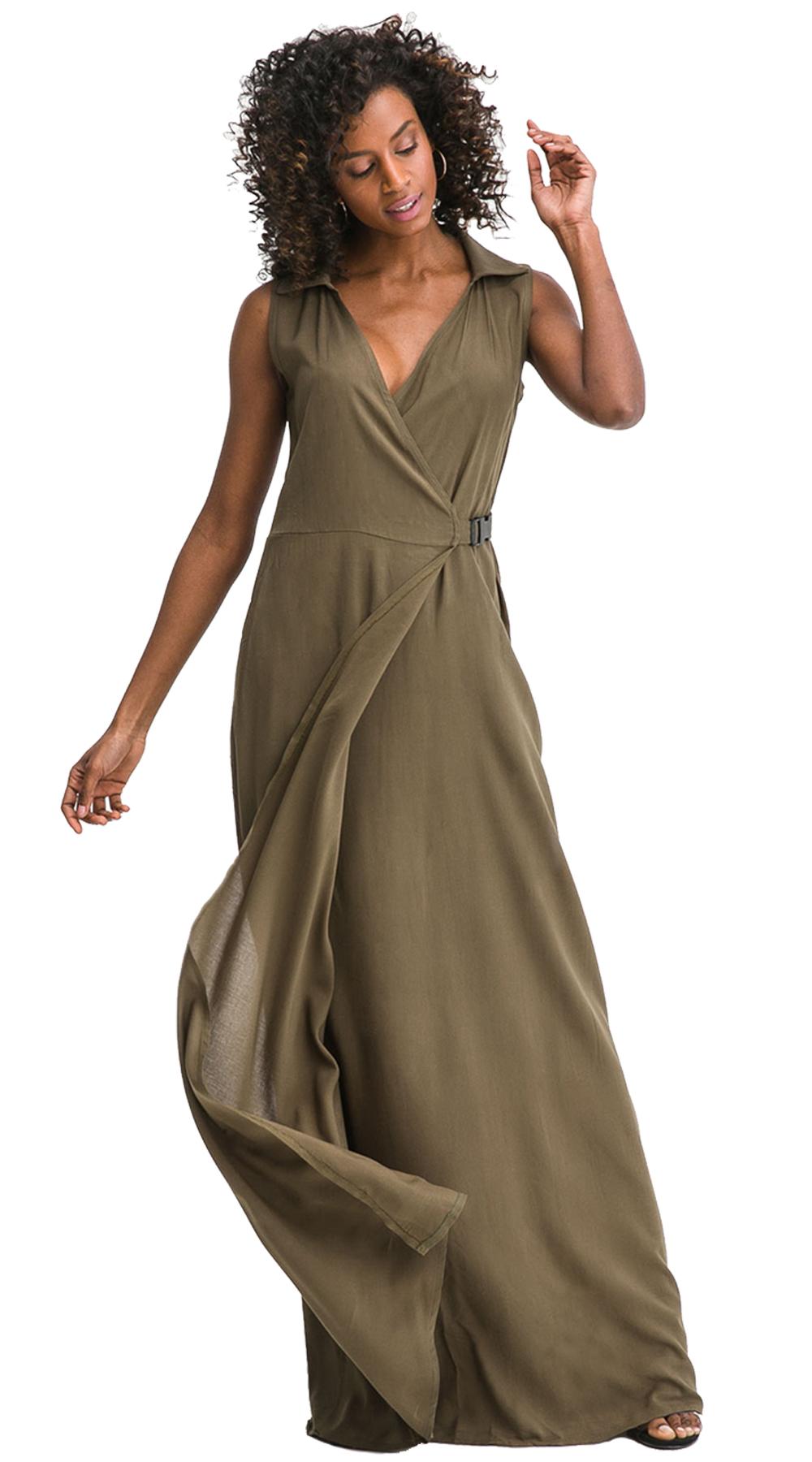 cf61f965dd2c Monocrome Maxi Φόρεμα