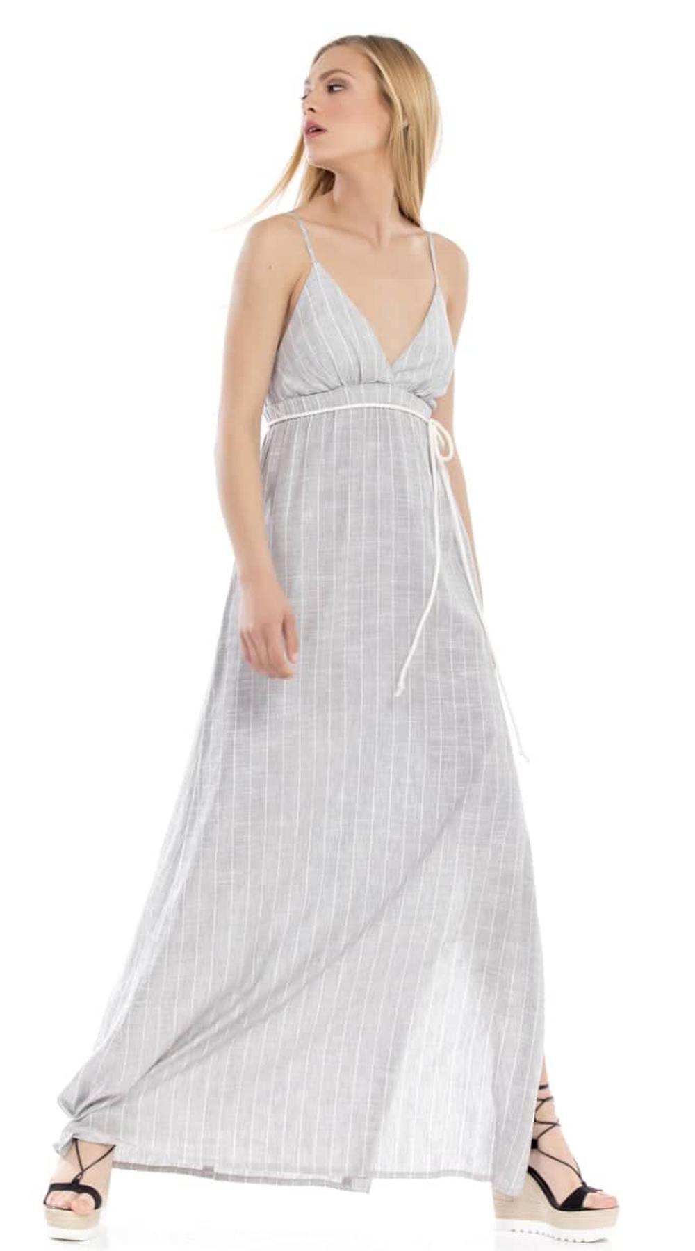 b631b66711b1 Μάξι Σατινέ Φόρεμα Online ONLINE S17ON 5094578 φορέματα βραδυνά φορέματα