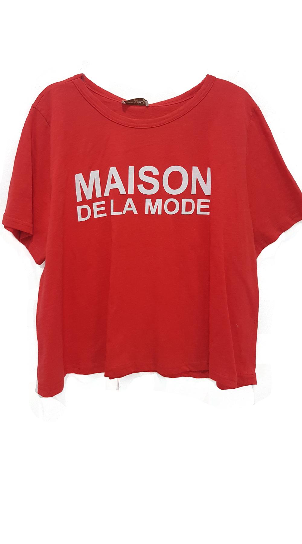 1fb1fcce87b3 Γυναικείο t-shirt MAISON DE LA MODE - Curvy