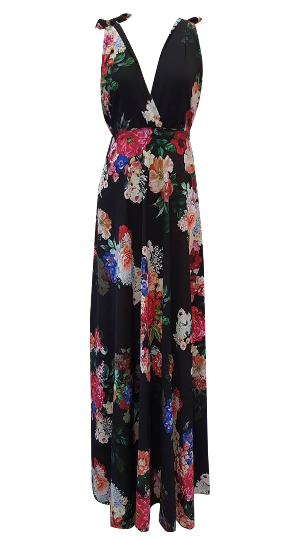 d3858e529fca2 Maxi floral dress Esmeralda | BACK IN STOCK OUTLET | missreina.com