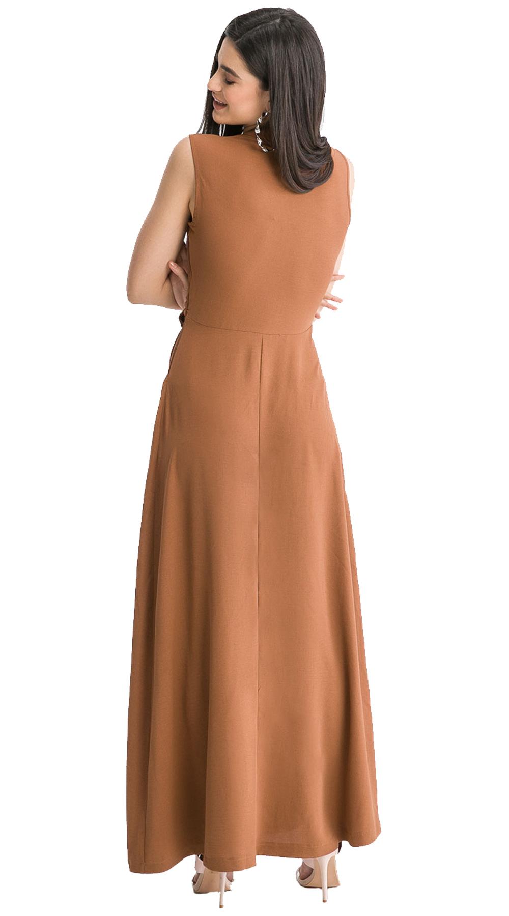 00228361fc9e Maxi Φόρεμα με Δέσιμο