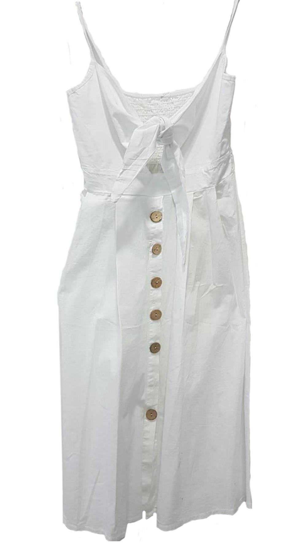 Μίντι Φόρεμα με δέσιμο στο μπούστο - MissReina - SS18SOF-57655 φορέματα so girly
