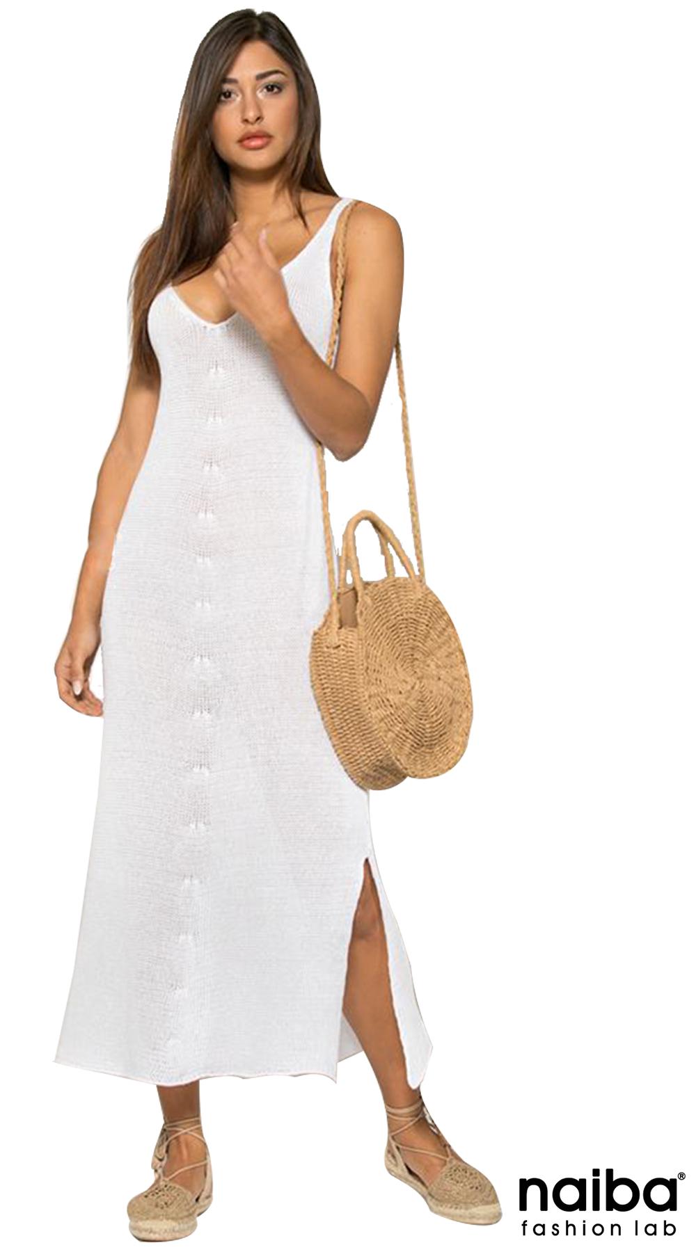 3f7a2ed7127d Maxi Πλεκτό Φόρεμα NAIBA