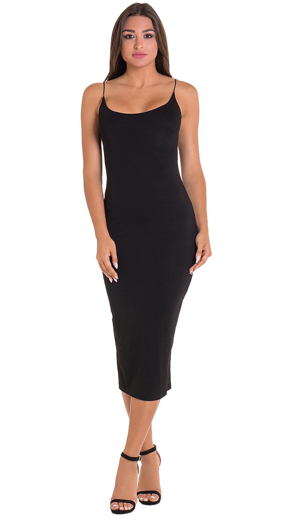 Bodycon Μονόχρωμο Φόρεμα ONLINE - ONLINE - SS19ON-51373