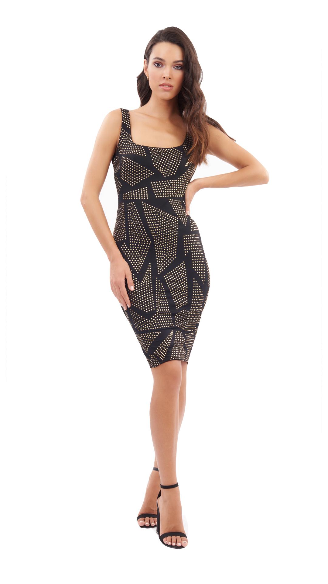 Midi εφαρμοστό φόρεμα Esther - ONLINE - SS20ON-514246