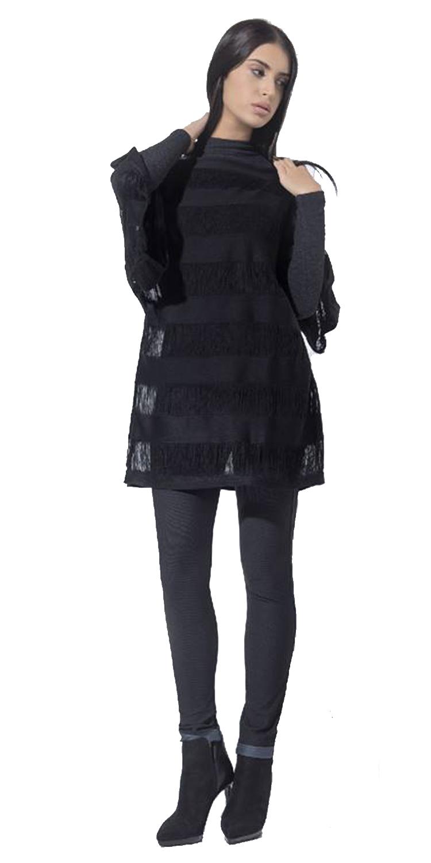 Γυναικεία Μπλούζα - Τουνίκ Oversized - LOVE ME - W17LV-131621 top trends casual chic