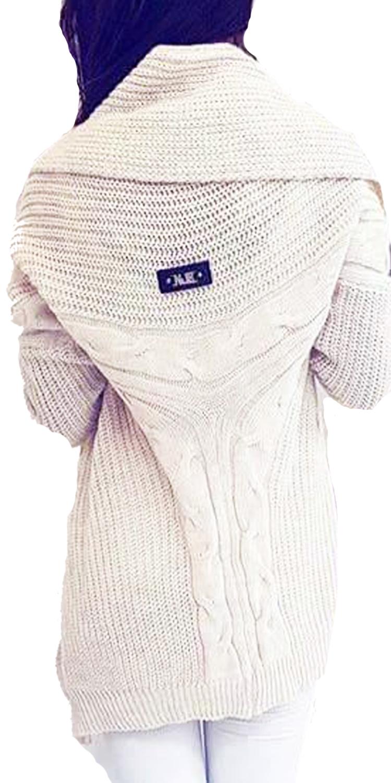Γυναικεία Πλεκτή Fluffy Oversized Ζακέτα - MissReina - W17SOF-4869