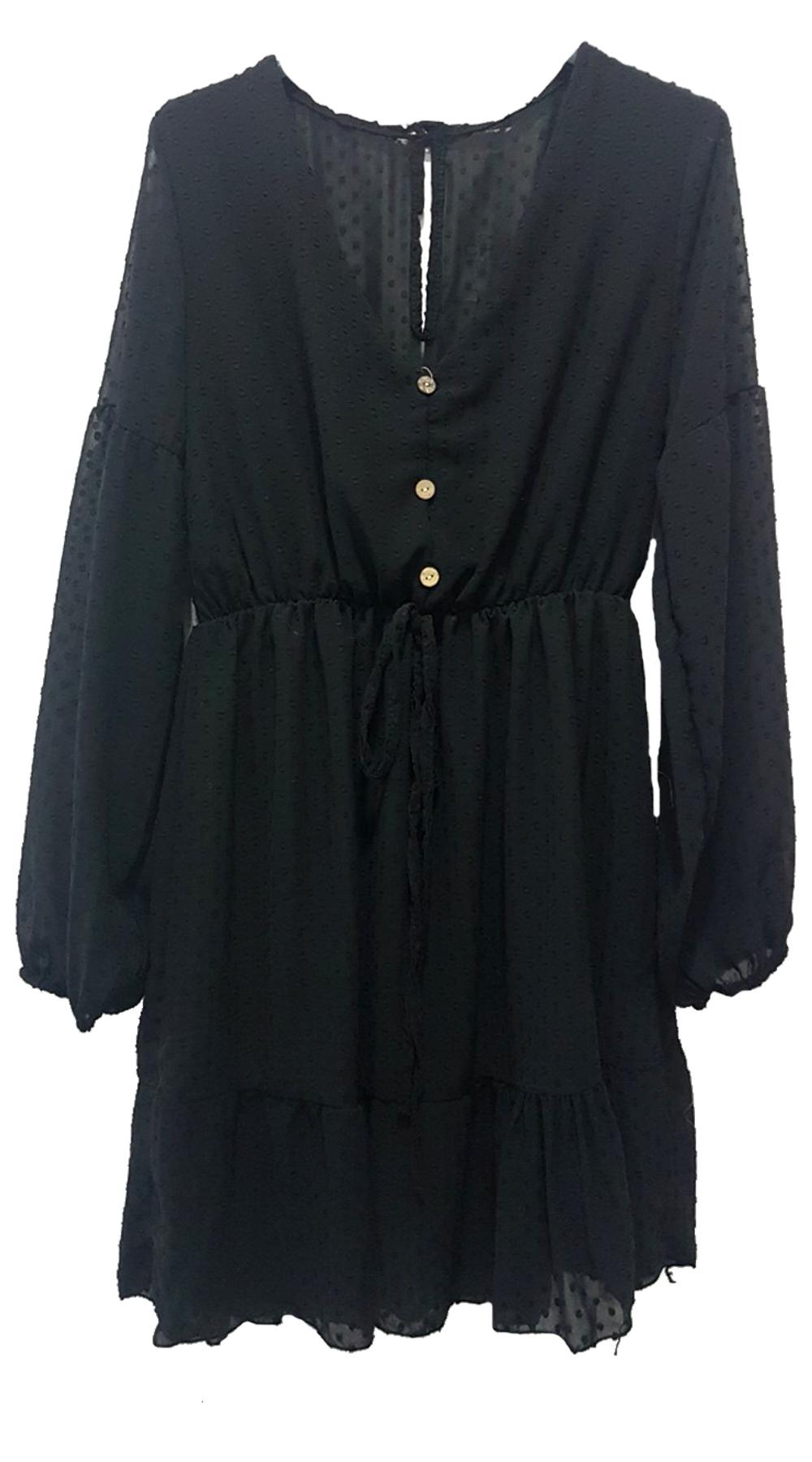 Πουά See Through Φόρεμα - MissReina - W18GAL-58502