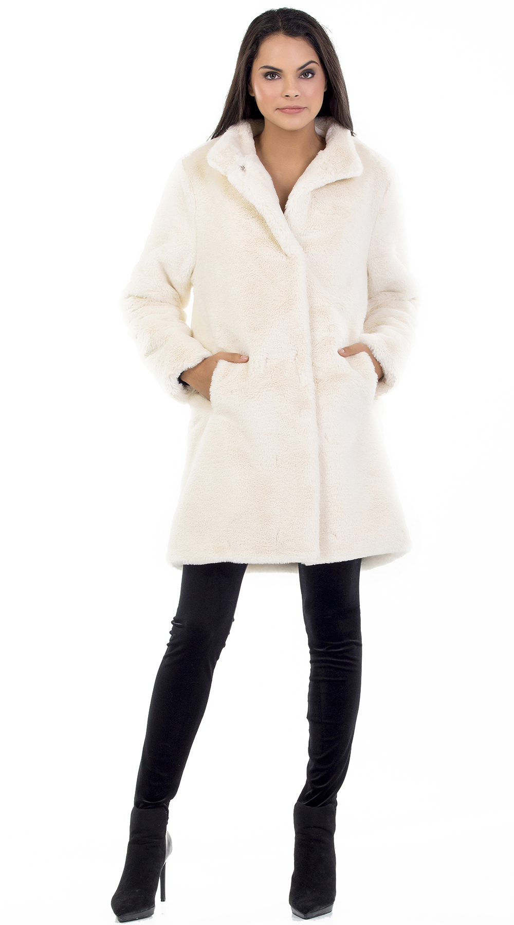 e3385182399 Γυναικείο γούνινο πανωφόρι Online - ONLINE - W18ON-47006