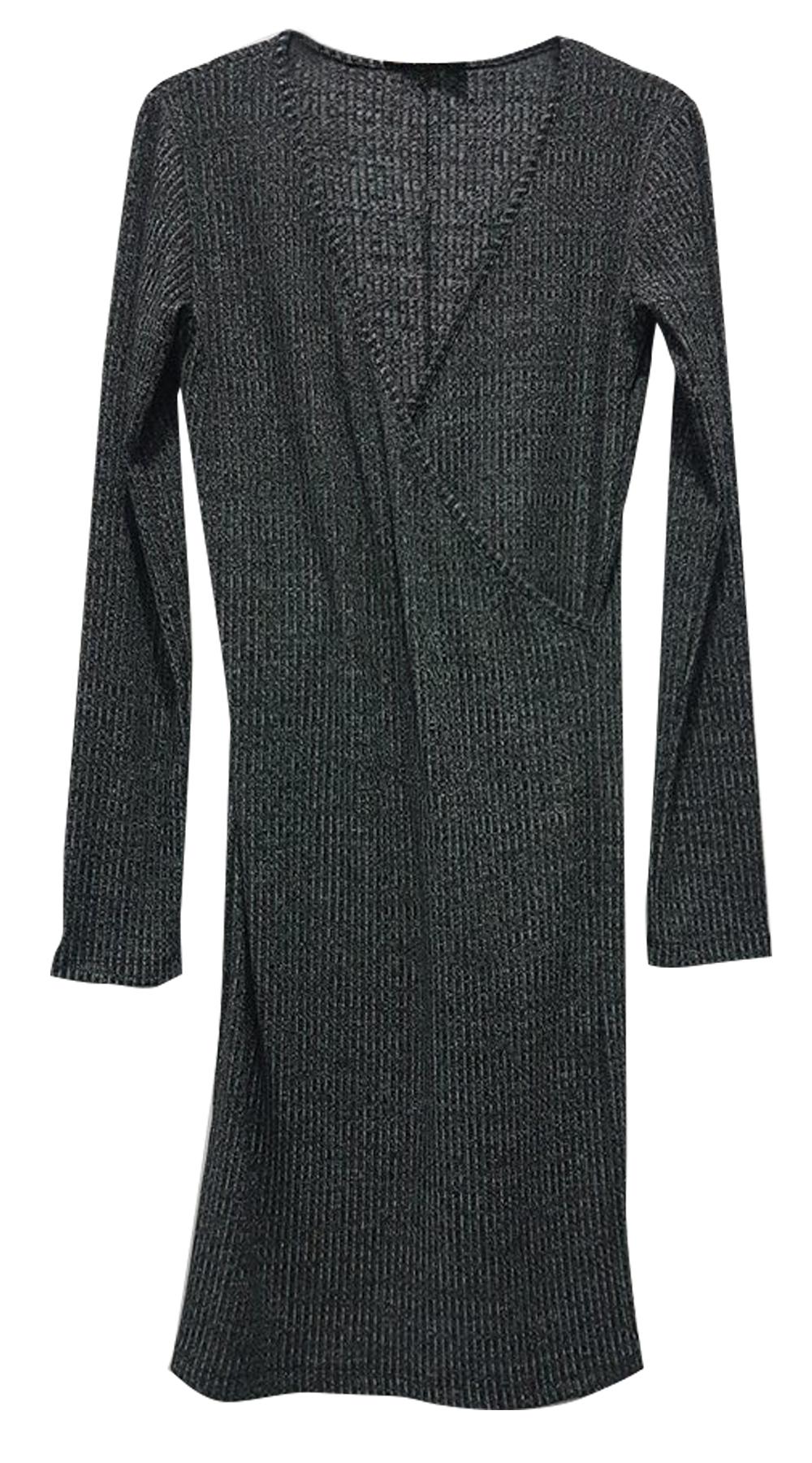 Μίνι basic φόρεμα κρουαζέ ελαστικό Online - ONLINE - W18ON-52034 φορέματα μίνι φορέματα