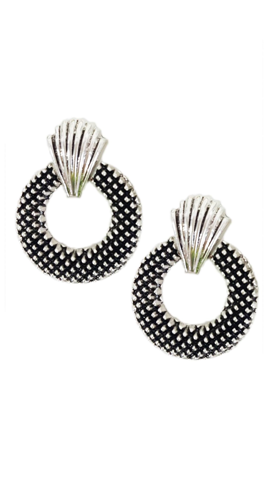 Σκουλαρίκια με Κοχύλι Λεπτομέρεια - MissReina - W20AC-614725