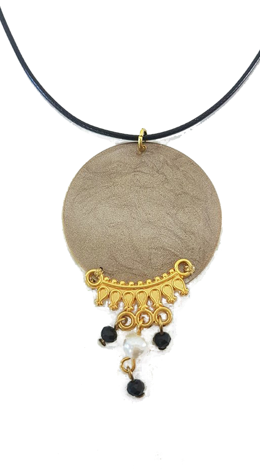 Handmade κολιέ gypsy style - MissReina - FA17AC-630c01 κοσμήματα κολιέ